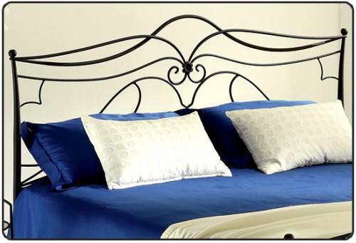 Testate da letto in ferro materassi memory e non solo - Testate letto singolo ...